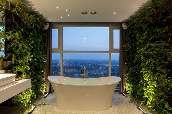 Ngắm mãi không chán căn hộ penthouse 250 m2 nằm trong khu đô thị Ecopark, Hà Nội - Nhà Đẹp Số (15)