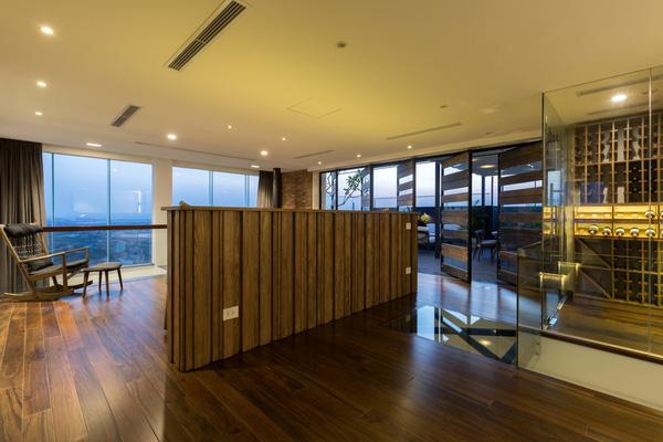 Ngắm mãi không chán căn hộ penthouse 250 m2 nằm trong khu đô thị Ecopark, Hà Nội - Nhà Đẹp Số (16)