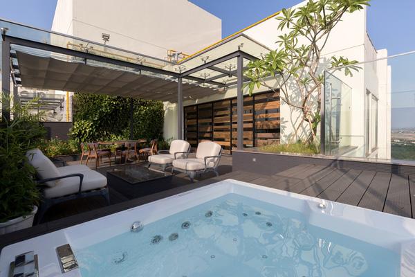Ngắm mãi không chán căn hộ penthouse 250 m2 nằm trong khu đô thị Ecopark, Hà Nội - Nhà Đẹp Số (17)