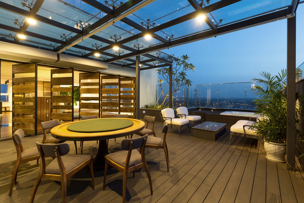Ngắm mãi không chán căn hộ penthouse 250 m2 nằm trong khu đô thị Ecopark, Hà Nội - Nhà Đẹp Số (18)