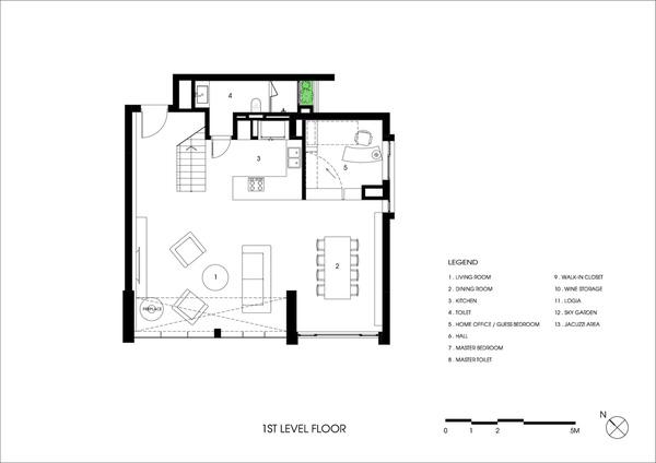 Ngắm mãi không chán căn hộ penthouse 250 m2 nằm trong khu đô thị Ecopark, Hà Nội - Nhà Đẹp Số (19)