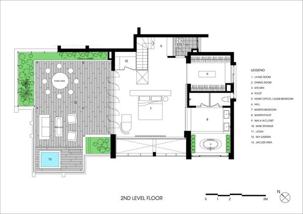 Ngắm mãi không chán căn hộ penthouse 250 m2 nằm trong khu đô thị Ecopark, Hà Nội - Nhà Đẹp Số (20)