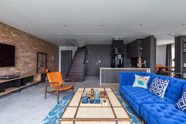 Ngắm mãi không chán căn hộ penthouse 250 m2 nằm trong khu đô thị Ecopark, Hà Nội - Nhà Đẹp Số (4)