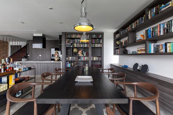Ngắm mãi không chán căn hộ penthouse 250 m2 nằm trong khu đô thị Ecopark, Hà Nội - Nhà Đẹp Số (6)