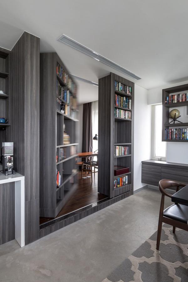 Ngắm mãi không chán căn hộ penthouse 250 m2 nằm trong khu đô thị Ecopark, Hà Nội - Nhà Đẹp Số (8)