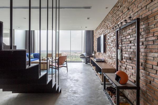 Ngắm mãi không chán căn hộ penthouse 250 m2 nằm trong khu đô thị Ecopark, Hà Nội - Nhà Đẹp Số (9)