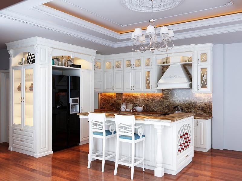 Những điều cần biết về tủ bếp tân cổ điển - Nhà Đẹp Số (3)