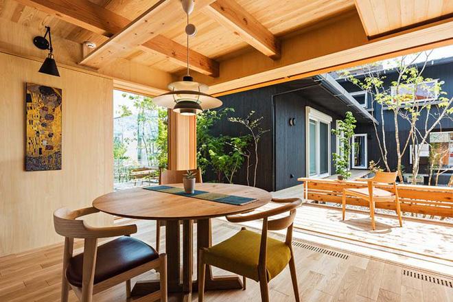 Những không gian phòng ăn ấm cúng vô ngần nhờ bộ bàn ăn gỗ - Nhà Đẹp Số (1)