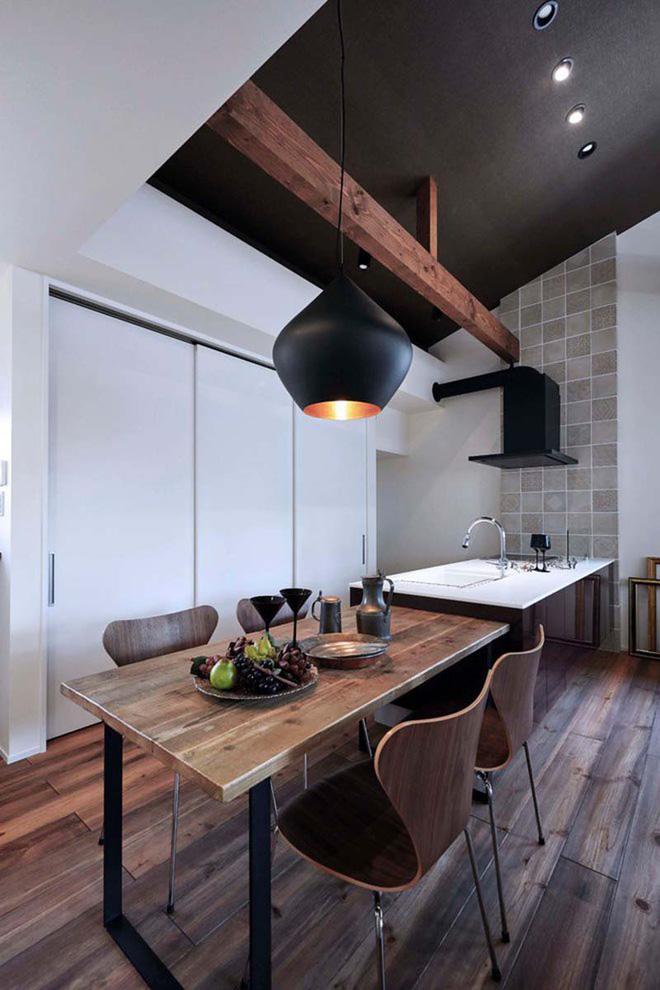 Những không gian phòng ăn ấm cúng vô ngần nhờ bộ bàn ăn gỗ - Nhà Đẹp Số (11)