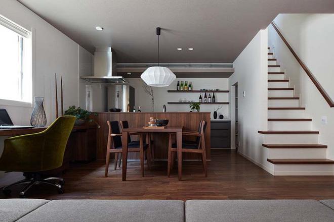 Những không gian phòng ăn ấm cúng vô ngần nhờ bộ bàn ăn gỗ - Nhà Đẹp Số (3)
