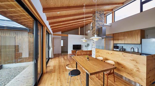 Những không gian phòng ăn ấm cúng vô ngần nhờ bộ bàn ăn gỗ - Nhà Đẹp Số (6)
