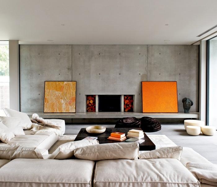 """Những mẫu phòng khách không sơn trát đang """"làm mưa làm gió"""" - Nhà Đẹp Số (8)"""
