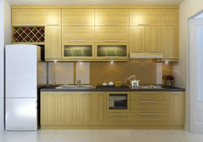 Phân loại tủ bếp theo hình dáng và cách ứng dụng - Nhà Đẹp Số (4)
