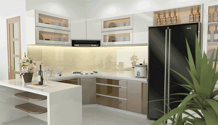 Phân loại tủ bếp theo hình dáng và cách ứng dụng - Nhà Đẹp Số (5)
