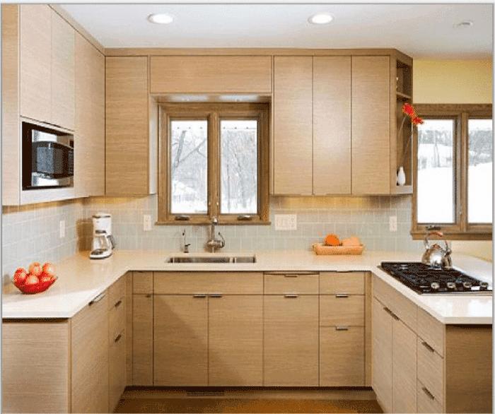 Phân loại tủ bếp theo hình dáng và cách ứng dụng - Nhà Đẹp Số (6)