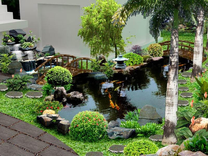 Thiết kế tiểu cảnh sân vườn cần lưu ý gì? - Nhà Đẹp Số (1)