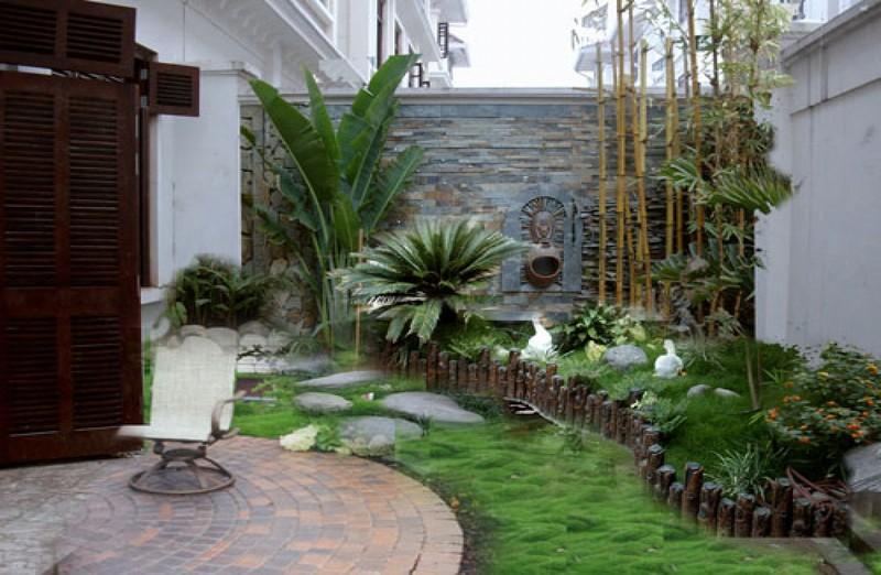 Thiết kế tiểu cảnh sân vườn cần lưu ý gì? - Nhà Đẹp Số (2)