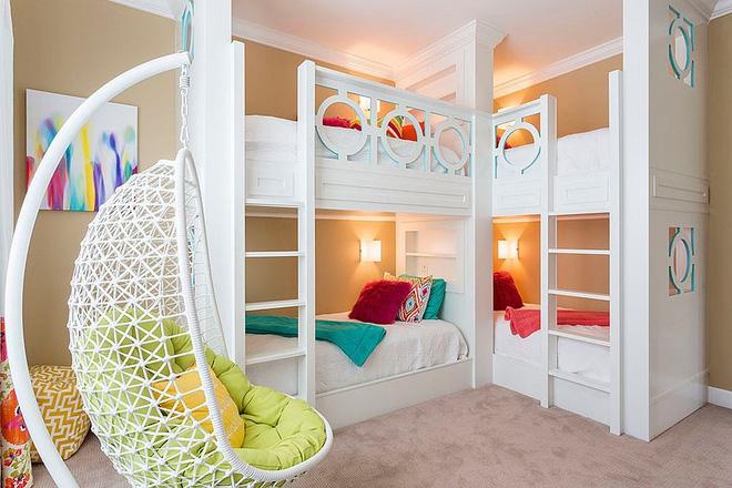5 cách thiết kế phòng ngủ chung cho các bé cực xinh - Nhà Đẹp Số (8)