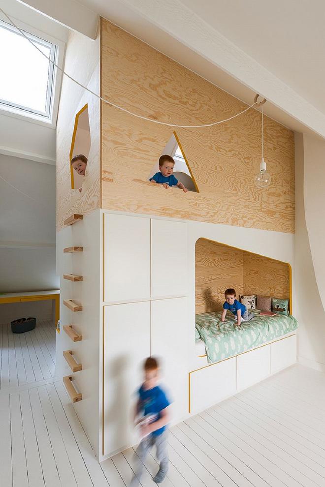 5 cách thiết kế phòng ngủ chung cho các bé cực xinh - Nhà Đẹp Số (9)
