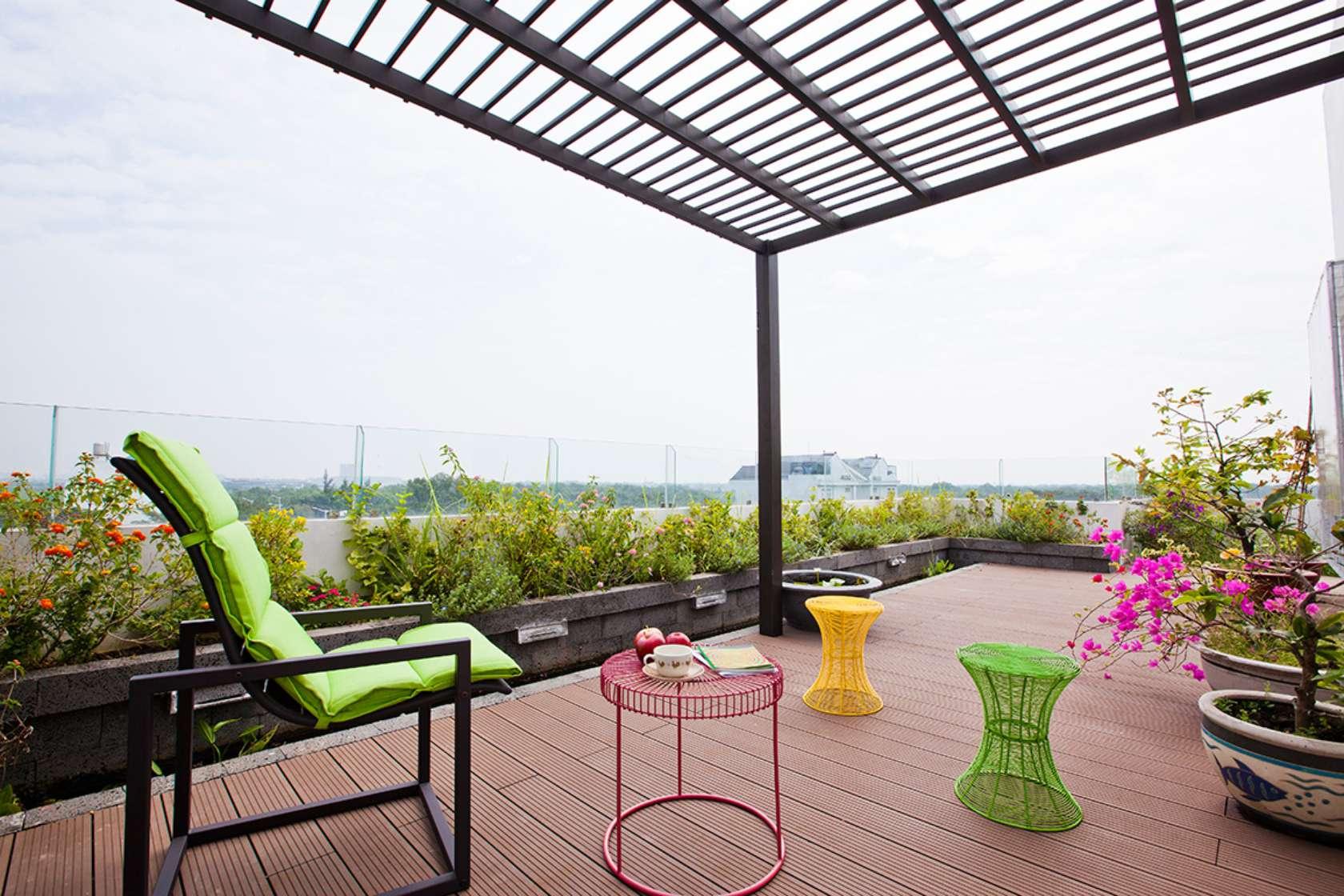Báo Tây khen không tiếc lời công trình nhà phố 3 tầng có sân vườn cực đẹp ở Sài Gòn - Nhà Đẹp Số (17)