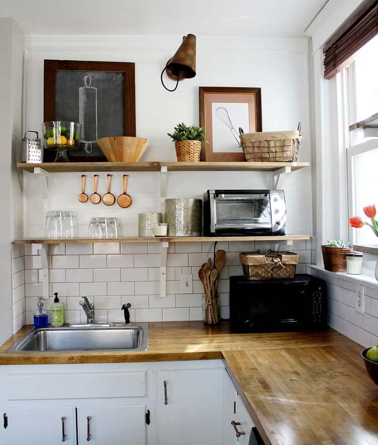 Bỏ/ chuyển những đồ dùng không cần thiết ra khỏi phòng bếp
