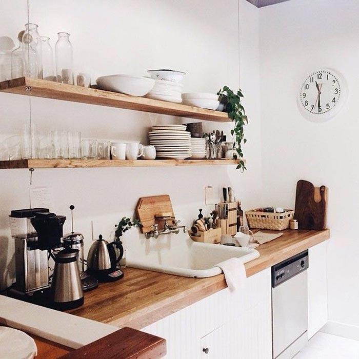 vấn đề diện tích cho những phòng bếp nhỏ
