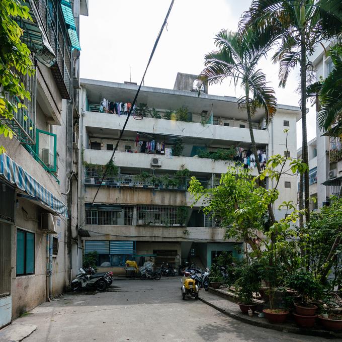 Cải tạo nội thất căn hộ 36 m2 thành không gian sống mang phong cách Đông Dương - Nhà Đẹp Số (1)