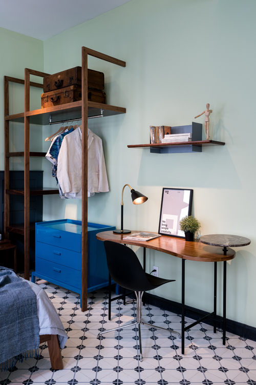 Cải tạo nội thất căn hộ 36 m2 thành không gian sống mang phong cách Đông Dương - Nhà Đẹp Số (10)