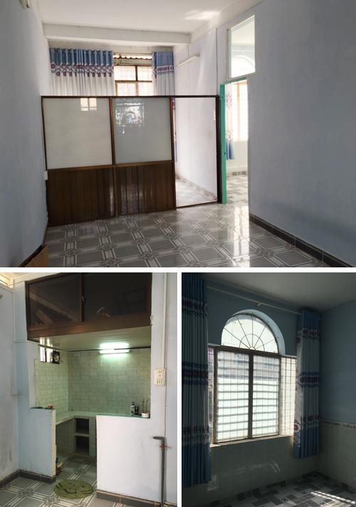 Cải tạo nội thất căn hộ 36 m2 thành không gian sống mang phong cách Đông Dương - Nhà Đẹp Số (2)