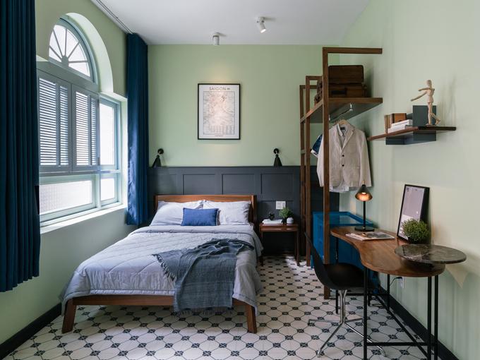 Cải tạo nội thất căn hộ 36 m2 thành không gian sống mang phong cách Đông Dương - Nhà Đẹp Số (9)