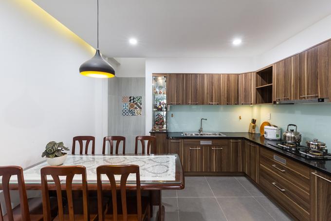 Gần 900 triệu hoàn thiện ngôi nhà phố 4 tầng khang trang ở quận 9, Sài Gòn - Nhà Đẹp Số (7)