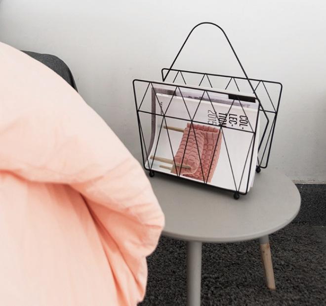Khó rời mắt 7 mẫu giỏ đựng đồ tiện ích cho không gian nhà đẹp sang trọng - Nhà Đẹp Số (5)
