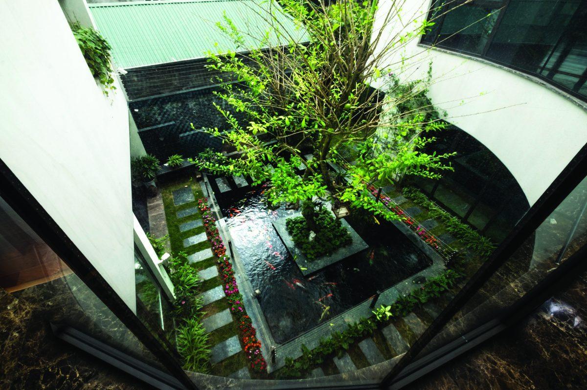 Không gian biệt thự đẹp cực mát mẻ dù hướng chính Tây ở Đông Anh, Hà Nội - Nhà Đẹp Số (12)