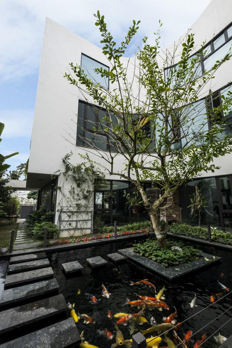 Không gian biệt thự đẹp cực mát mẻ dù hướng chính Tây ở Đông Anh, Hà Nội - Nhà Đẹp Số (3)