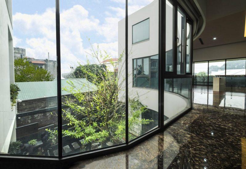 Không gian biệt thự đẹp cực mát mẻ dù hướng chính Tây ở Đông Anh, Hà Nội - Nhà Đẹp Số (4)
