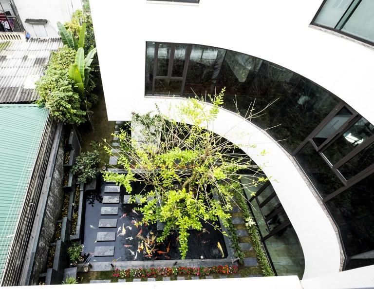 Không gian biệt thự đẹp cực mát mẻ dù hướng chính Tây ở Đông Anh, Hà Nội - Nhà Đẹp Số (5)