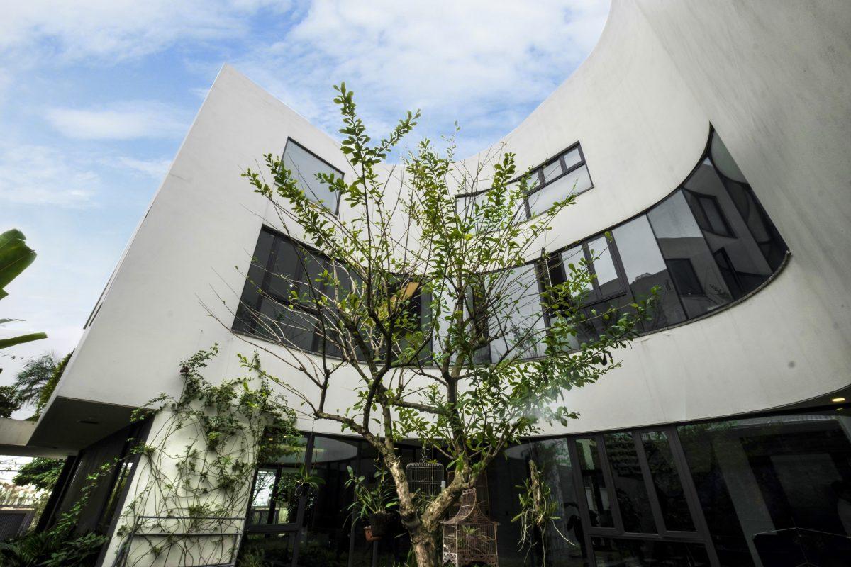 Không gian biệt thự đẹp cực mát mẻ dù hướng chính Tây ở Đông Anh, Hà Nội - Nhà Đẹp Số (6)