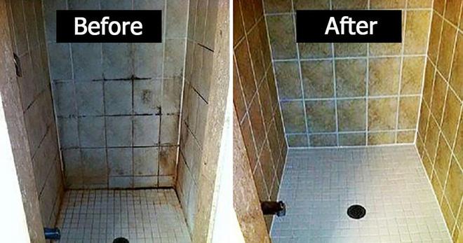 Mẹo làm sạch gạch ốp nhà tắm bằng dung dịch vệ sinh tự chế - Nhà Đẹp Số (2)