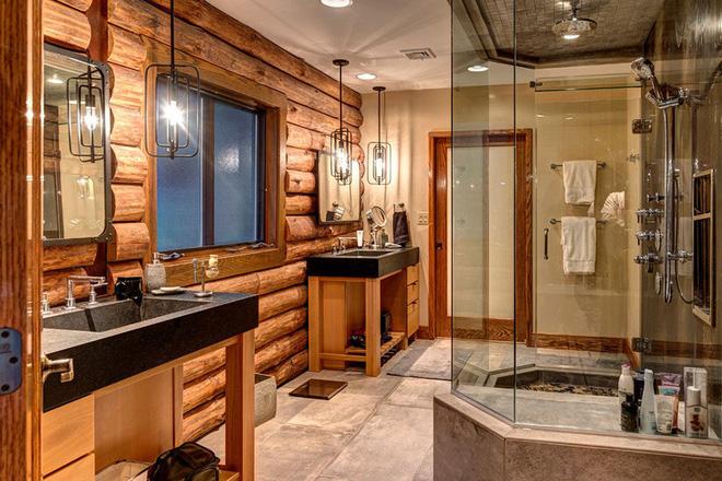 Mộc mạc những không gian phòng tắm phong cách rustic - Nhà Đẹp Số (1)