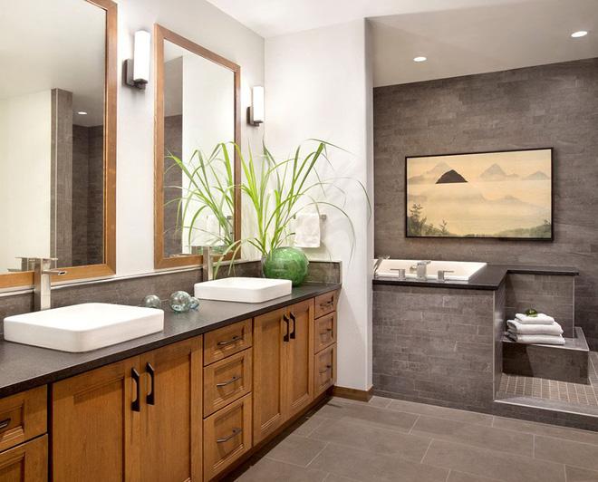 Mộc mạc những không gian phòng tắm phong cách rustic - Nhà Đẹp Số (10)