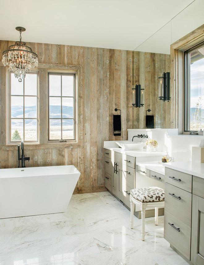 Mộc mạc những không gian phòng tắm phong cách rustic - Nhà Đẹp Số (3)