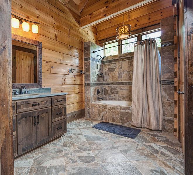 Mộc mạc những không gian phòng tắm phong cách rustic - Nhà Đẹp Số (8)