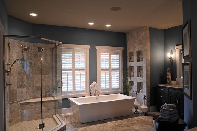 Những mẫu bồn tắm đẹp giúp không gian thư giãn tỏa sáng - Nhà Đẹp Số (12)