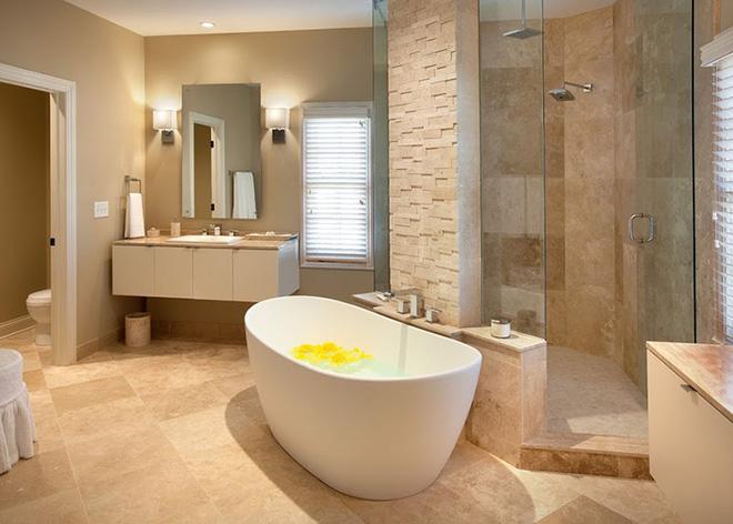 Những mẫu bồn tắm đẹp giúp không gian thư giãn tỏa sáng - Nhà Đẹp Số (2)
