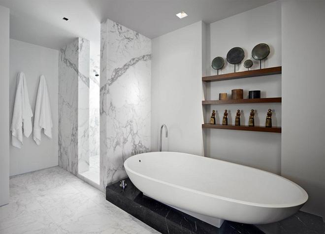 Những mẫu bồn tắm đẹp giúp không gian thư giãn tỏa sáng - Nhà Đẹp Số (3)