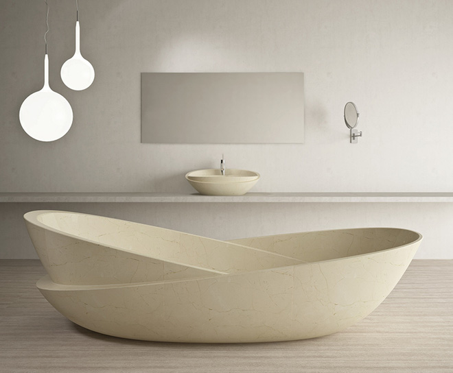 Những mẫu bồn tắm đẹp giúp không gian thư giãn tỏa sáng - Nhà Đẹp Số (4)