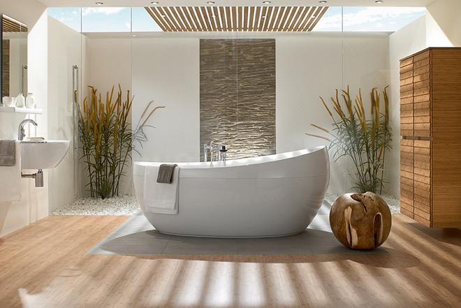 Những mẫu bồn tắm đẹp giúp không gian thư giãn tỏa sáng - Nhà Đẹp Số (5)