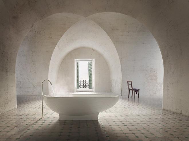 Những mẫu bồn tắm đẹp giúp không gian thư giãn tỏa sáng - Nhà Đẹp Số (8)