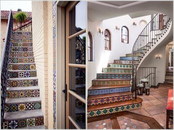 3 lí do nên chọn gạch bông lát cầu thang cho nhà ở - Nhà Đẹp Số (1)
