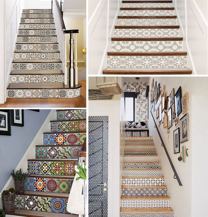3 lí do nên chọn gạch bông lát cầu thang cho nhà ở - nhà đẹp số